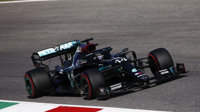 Mercedes verwachtte slechts 'op hun kop te krijgen' na incident Hamilton