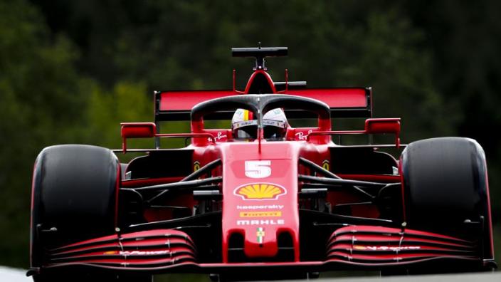 """Vettel corrigeert engineer op Mugello: """"Dat bestaat helemaal niet"""""""
