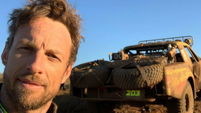 Button stranded in the desert for 17 hours after Baja 1000 shunt