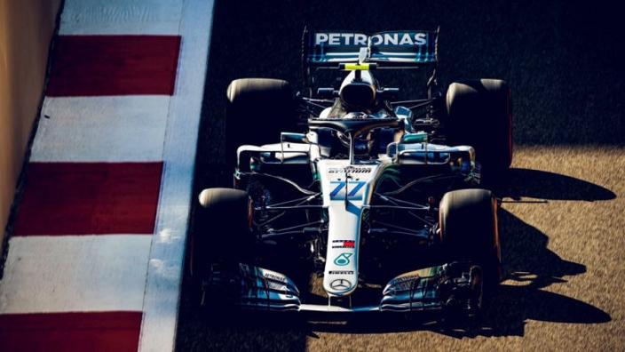 Bottas lays down marker in Abu Dhabi