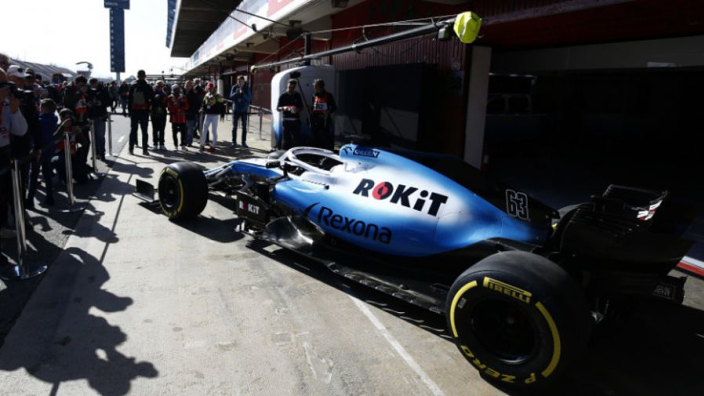 Williams are the only team that are 'off the pace'