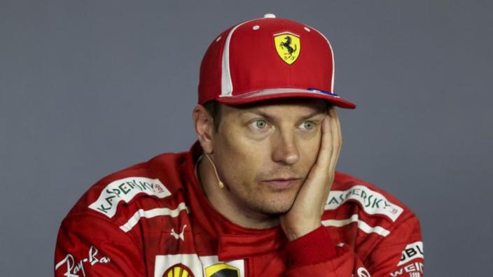 Raikkonen punished for car crash in Switzerland