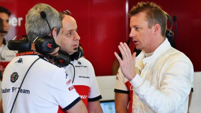 Räikkönen dacht geen moment aan stoppen: 'Hij wilde heel graag doorgaan'