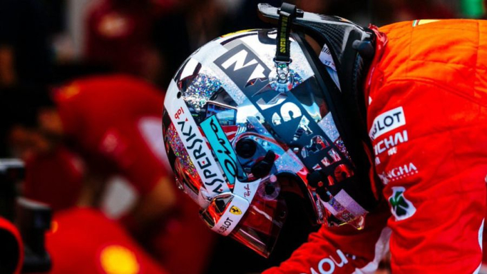 Vettel responds to Ferrari quit questions