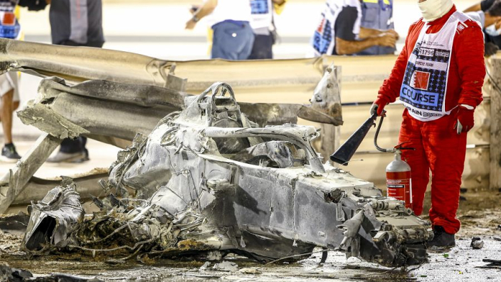 Video: The reasons why Romain Grosjean survived his fiery crash in Bahrain