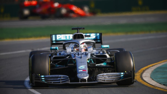 Vettel: Hamilton was bored after Bottas out-launched him