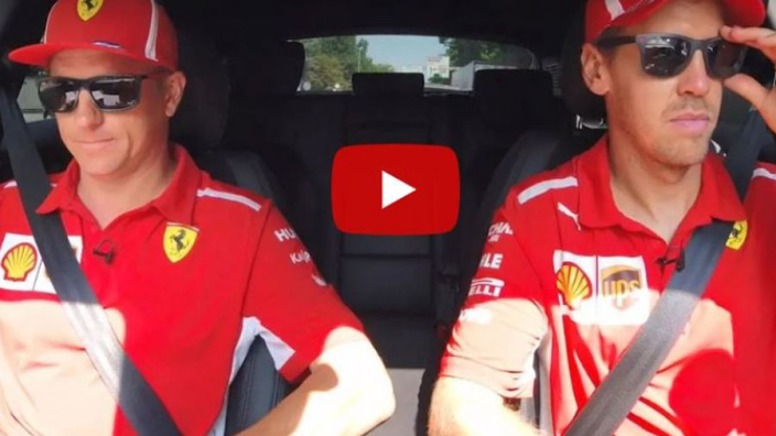 VIDEO: Vettel and Raikkonen take a final trip together