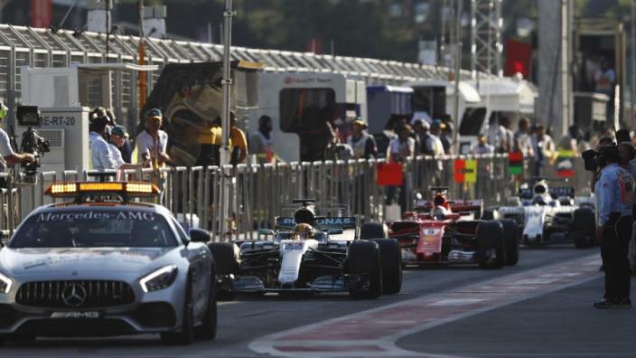 VIDEO: Hamilton and Vettel collide in Baku