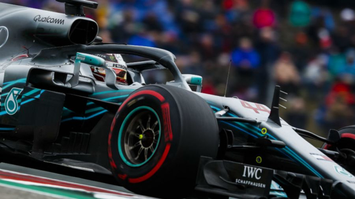 VIDEO: Mercedes start up 2019 F1 car