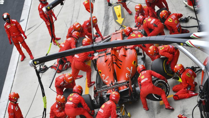 Brundle says Ferrari's team orders are