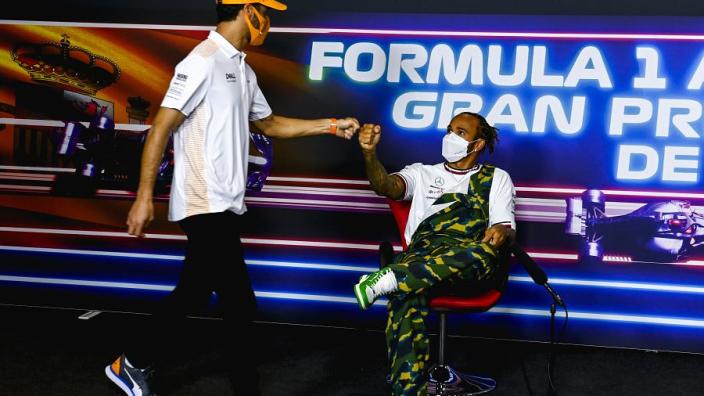 Hamilton silencing critics with Verstappen battle - Ricciardo