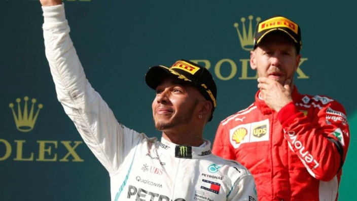 Hamilton and Mercedes have had it easy - Vettel