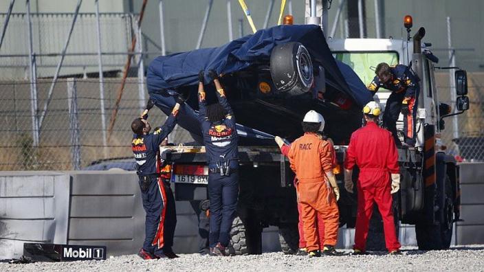 VIDÉO : Le crash de Pierre Gasly à Barcelone
