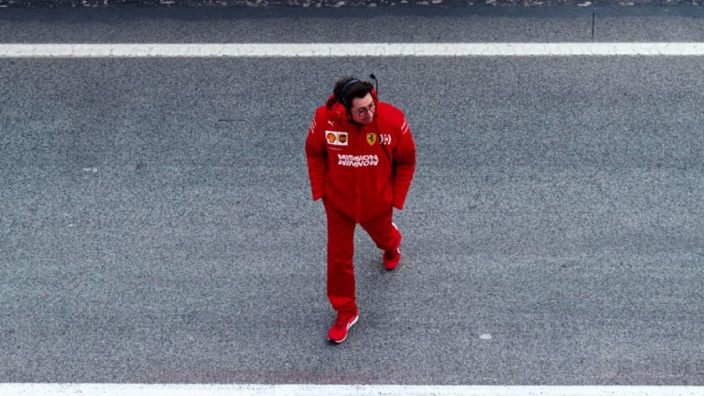 Brundle: Ferrari shouldn't treat Binotto like a football manager