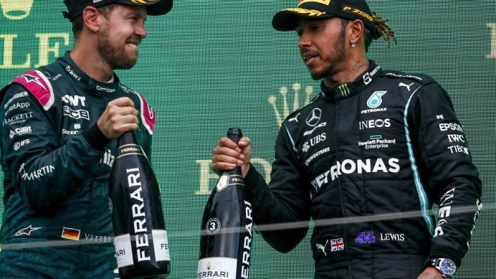 Vettel: 'Aston Martin gaat de wereldtitel winnen, vraag is alleen wanneer'