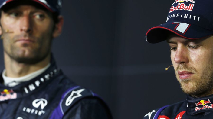 Webber doet boekje open over tijd als teamgenoot van Vettel: ''Verloor vertrouwen in hem.''
