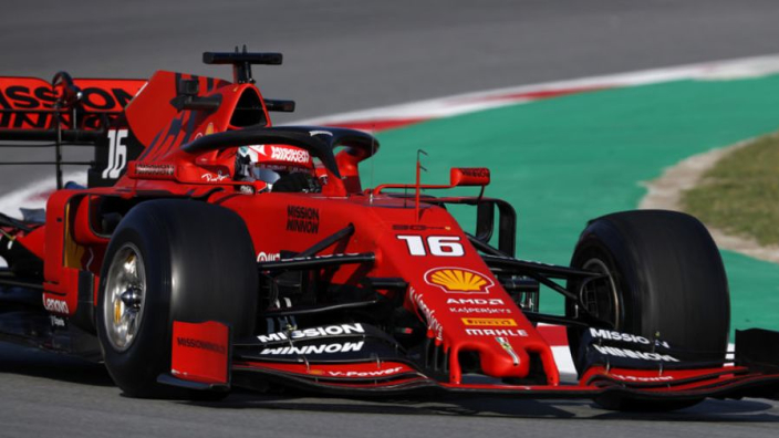 Leclerc warns rivals that Ferrari are not yet running 'flat out'