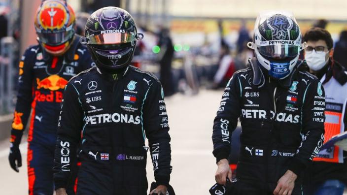Berger: ''Bottas en bijna alle andere coureurs hebben geen schijn van kans tegen Hamilton''