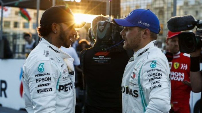 There has to be tension between Hamilton and Bottas - Hill