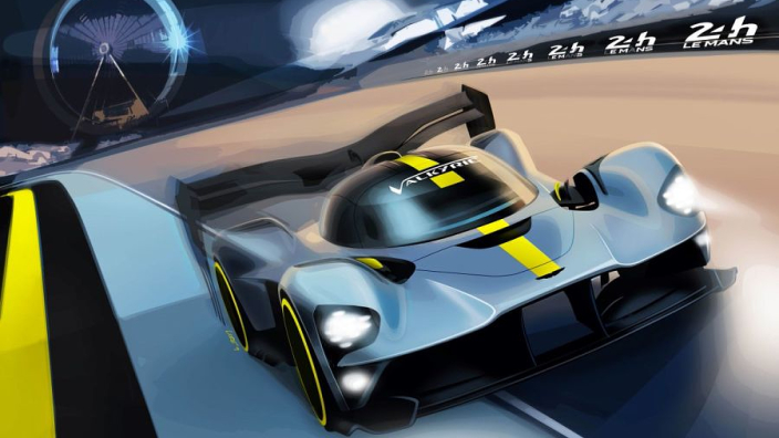 Aston Martin's Red Bull-designed hypercar seeking Le Mans glory