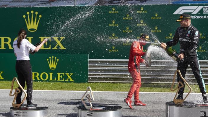 FIA introduceert nieuw 'coronapodium' voor Steiermark GP