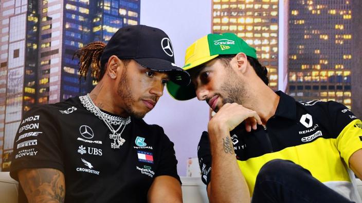Ricciardo taking Hamilton's lead after eyes opened to world events
