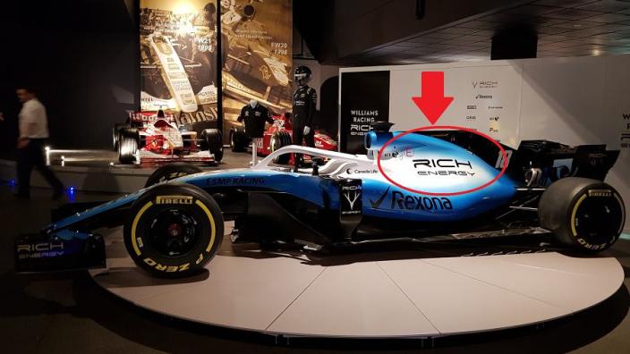 Rich Energy laat weer van zich horen en toont 'gesponsorde' Williams-auto
