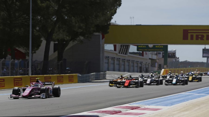 Hubert replaced for remainder of F2 season