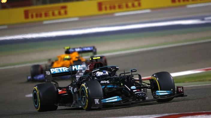 "Bottas slates Mercedes' ""defensive"" Bahrain strategy"