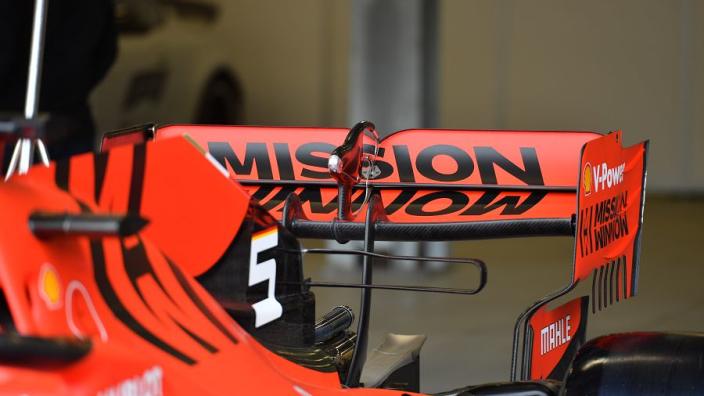 IN BEELD: Ferrari's nieuwe aerodynamica voor Azerbeidzjan