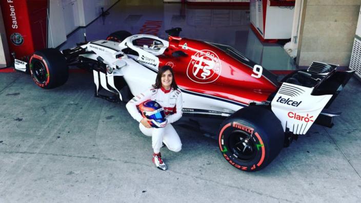 Calderon finds F1 car 'easier' than GP3