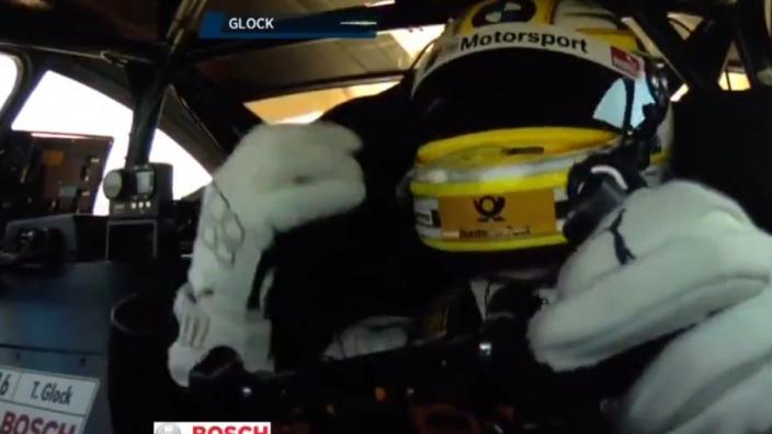 VIDEO: Timo Glock gaat helemaal los na winst in DTM