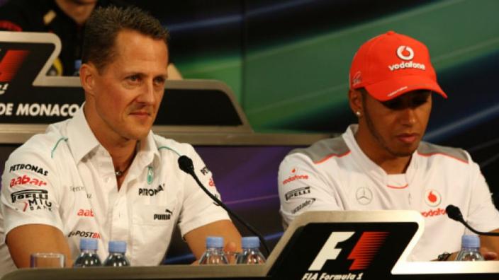 Schumacher wins, not tactics, are remembered - Hamilton