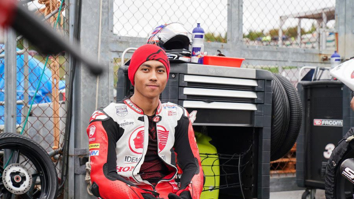 Rider dies after crash in MotoGP support race