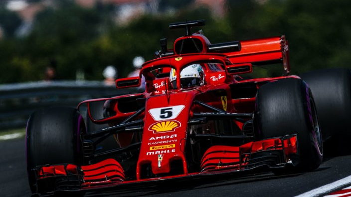 Vettel lays down dominant marker to Hamilton, Mercedes