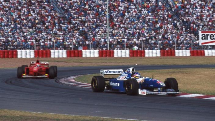 On This Day: Villeneuve edges Schumacher in crazy Brazil GP