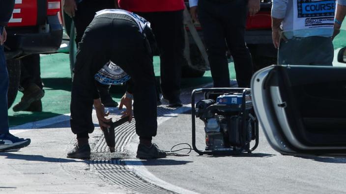 """Cause of broken Portimão drain cover """"never seen before"""" - FIA"""