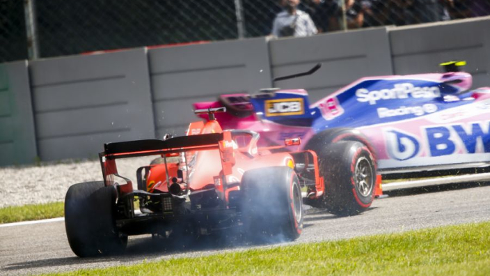 Vettel explains Stroll collision