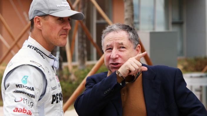"""Todt: """"Ik ontmoet Michael Schumacher regelmatig, kijken samen televisie"""""""