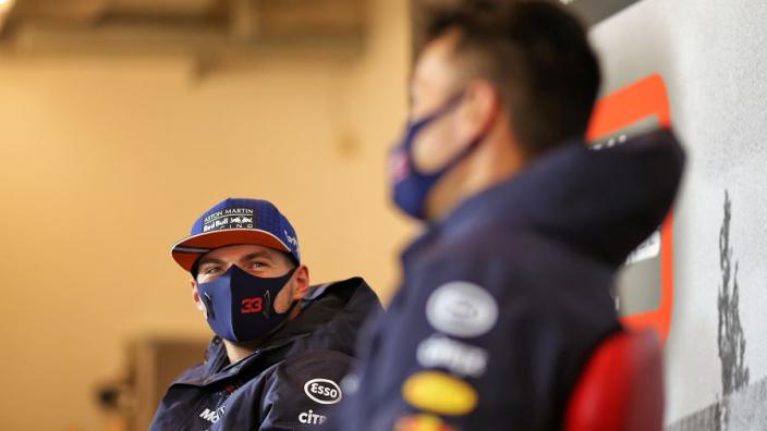 """Red Bull vraagt om Verstappens mening, maar: """"Maakt mij niet zoveel uit"""""""
