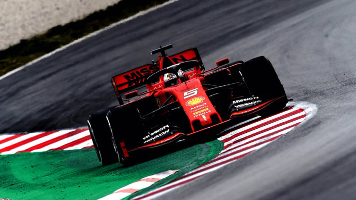 Vettel reveals name of 2019 Ferrari