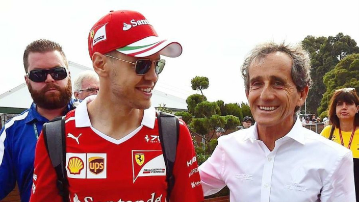 Prost: 'Vettel was optie Renault, maar motivatie niet duidelijk genoeg'