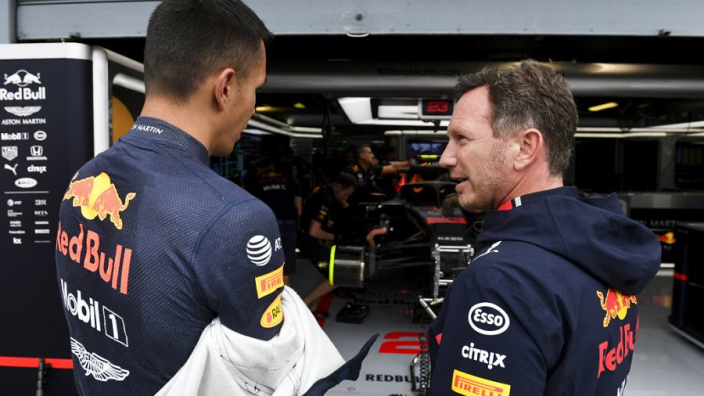 No AlphaTauri exit for Albon in 2021 as Horner says 'It's Red Bull or on the bench'
