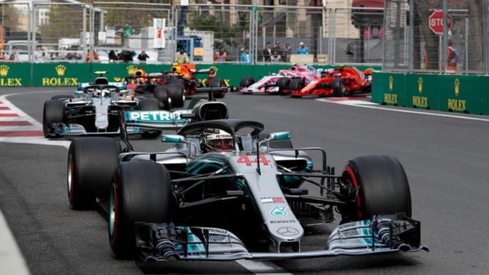 Mercedes gave up on Hamilton winning in Baku