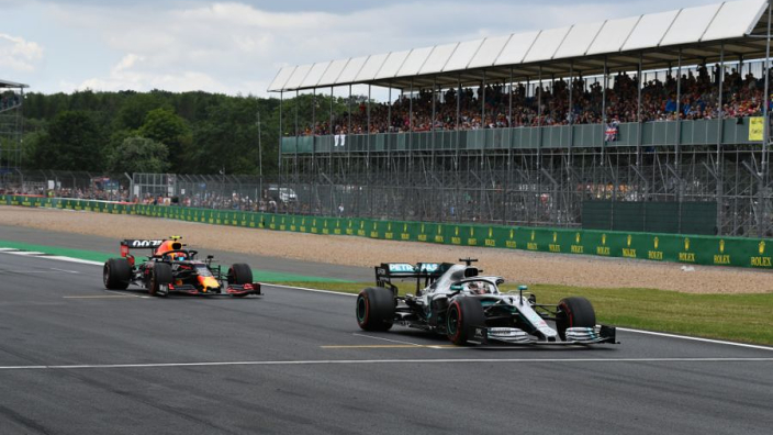 La grille de départ du GP de Grande-Bretagne