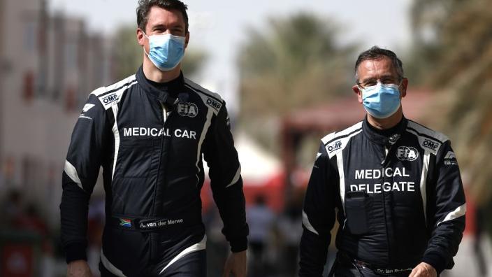 F1 medical car driver Van der Merwe expected to miss end of season