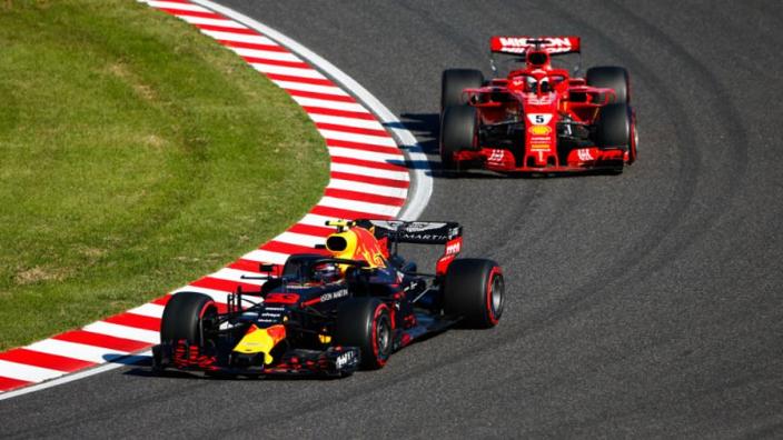 Verstappen hits back at Vettel, Suzuka stewards