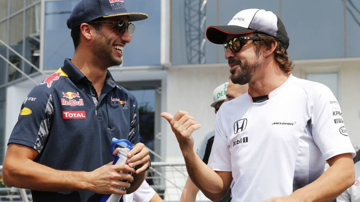Ricciardo: I'm not giving up my car for Fernando