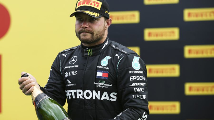 Hamilton puts new deal on hold as Mercedes confirm Bottas