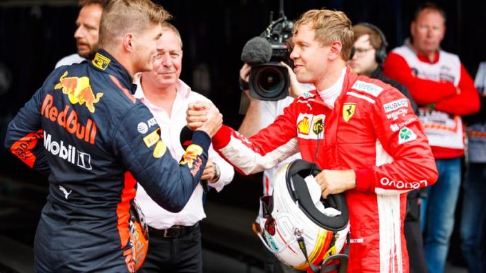 Verstappen quicker than Vettel - Ricciardo